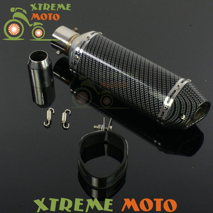 51mm Motorcycle Exhaust Muffler With Moveable DB Killer For CB400 600 CBR600 1000 YZF R1 R6 GSXR NINJA Z750 800 Street Bike new touch screen for 7 digma hit 3g ht7070mg tablet touch panel digitizer glass sensor replacement free shipping
