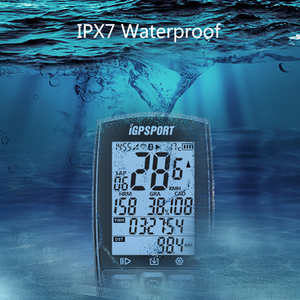 Image 4 - iGPSPORT ANT+ Cycling Computer Bluetooth 4.0BLE IPX7 Waterproof Wireless Bike Computer Bicycle Sensitive GPS Speedometer Cadence
