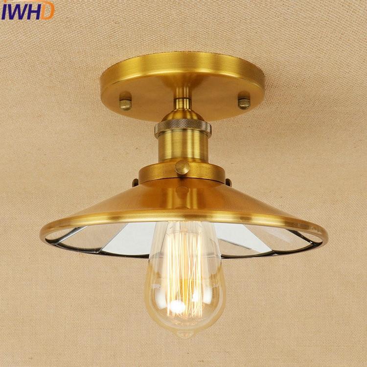 Vintage Industrial Loft Style Ceiling Fixtures Retro Lamp: Industrial Vintage Loft Style LED Ceiling Lights Lustre