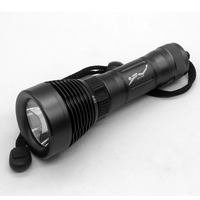3000 Lumen Diving Dive Waterproof XML T6 Led Flashlight Torch Light Zoomable 50 Meter Diving Lanterna
