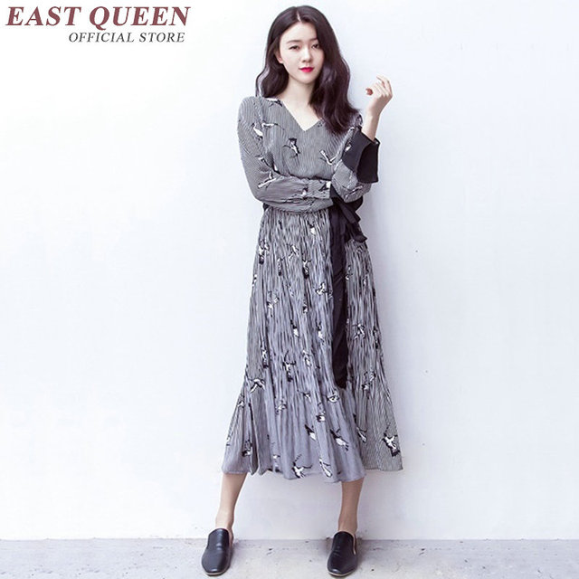 premium selection a692b 6cca7 US $45.1 45% OFF|Japanischen kleid kimono moderne Boho chic mexikanische  hippie kleid frauen ethnischen stil kleid kleidung bohemian kleid KK1258 in  ...