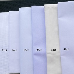 40x40cm 28ct 18ct 16ct 11ct Aida cloth cross stitch fabric canvas DIY handcraft supplies stitching embroidery craft