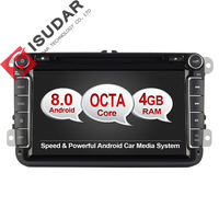 Android 6 0 Two Din 8 Inch Car DVD Player For VW Volkswagen POLO PASSAT Golf