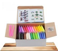 24colors children colored fimo clay plasticine font b Soft b font font b Polymer b font