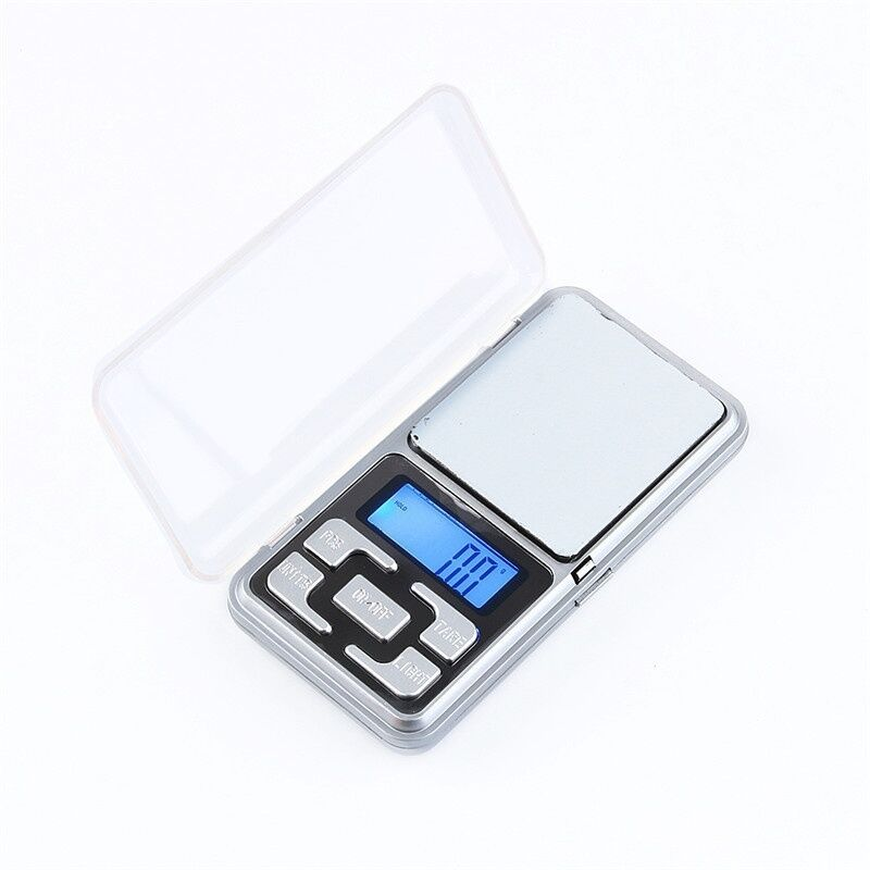 Digital Jewelry Scale Gram Electronic Pocket Scale 200G/0.01G Precision Jewelry Scale Balance for Diamonds and Gram Weight