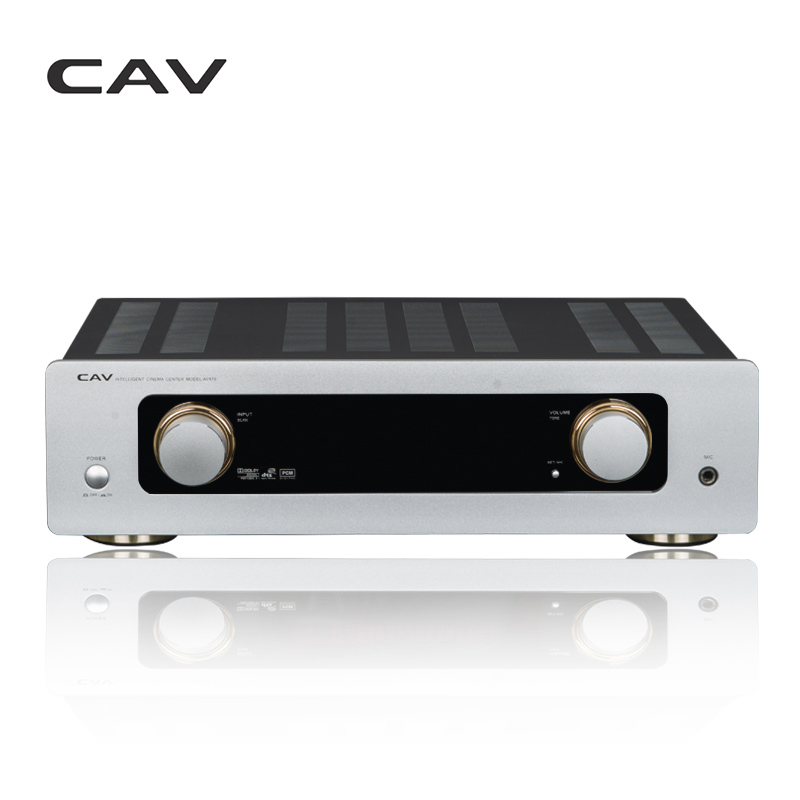 CAV AV970 Home Audio Amplifier Home Theater System Kara OK Decoding Dolby Digital Dolby DTS Cara OK Speaker Audio Amplifier