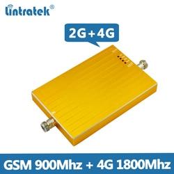 Lintratek GSM 4G Repeater 900 1800Mhz Signaalversterker GSM 900 GSM 1800 Signaalversterker 4G LTE 1800 mhz Ampli 4G 2G Dual Band @ 5