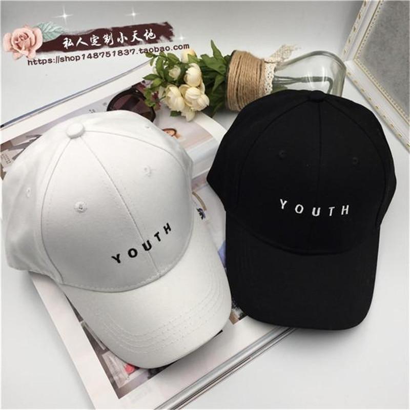 Prix pour BTS Mode K POP JEUNESSE broderie Chapeaux réglable casquette de baseball