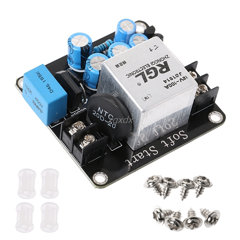100A 4000W High-Power Soft Start Circuit Power Board For Class A Amplifier Amp Whosale&Dropship