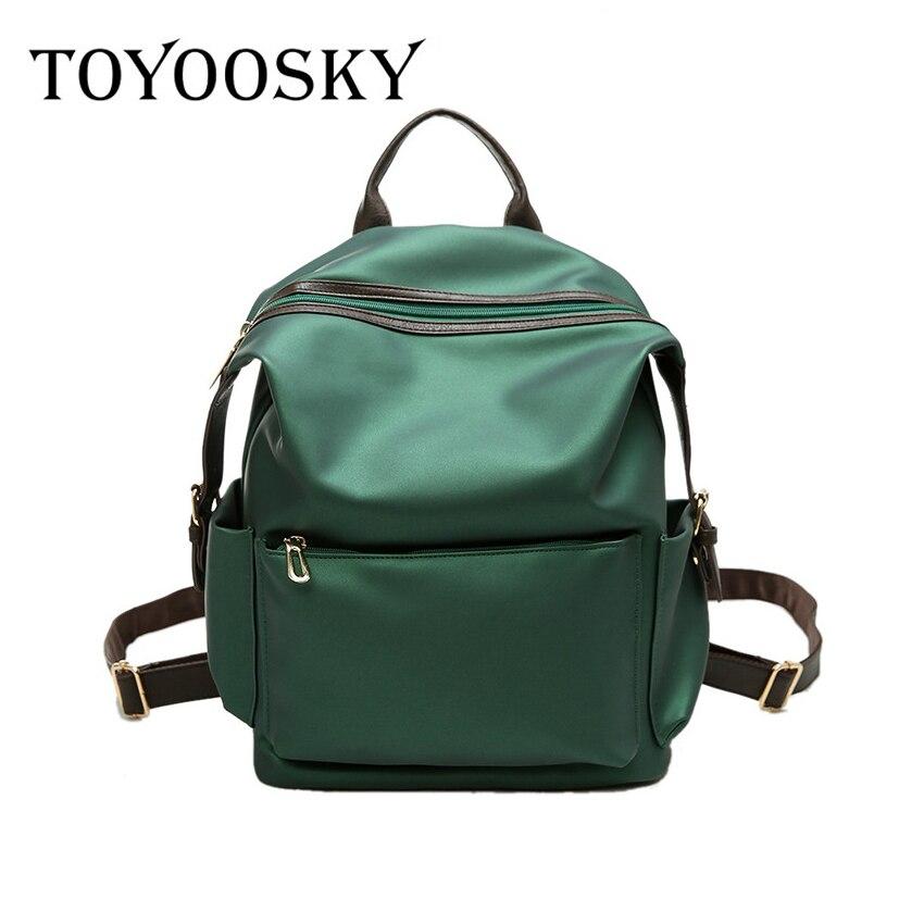 TOYOOSKY 2017 Backpack Women PU Leather Bag Ladies Zipper Bag Women Bagpack Mochila Feminina School Bags for Teenagers