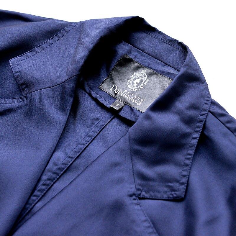 Conception Élégante Trench Femme Originale Dabuwawa A Lady ligne Couleur Marque Style coat Pour Office Solide qCS4x5