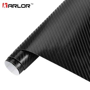 Image 2 - 200mm x 1520mm 4D Carbon Fiber Glossy Vinyl Wrap Sheet Film Motorcycle Automobiles Car Accessories Decoration Bubble Air Free