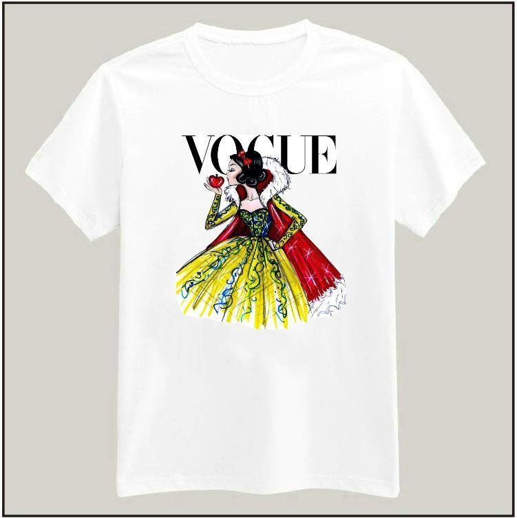 HTB135K5HpXXXXbPXXXXq6xXFXXXq - Tattoo Vogue Princess Women T shirt PTC 17