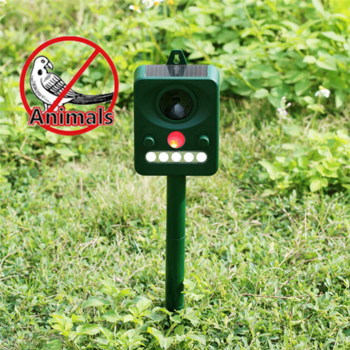 Doatry Solar Powered Mosquito Killer Ultra Sonic Anti Mosquito Rats Mice Bird Dog  Pest Repeller Animal Trap Insect Killer Lamp|Repellents| |  - title=