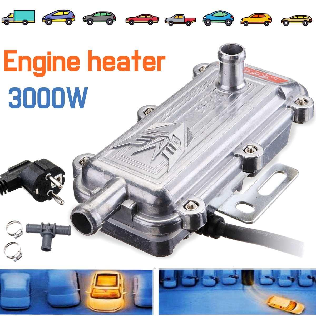 3000 W voiture moteur liquide de refroidissement chauffage préchauffeur pas W ebasto Eberspacher moteur chauffage préchauffage Air Parking chauffage