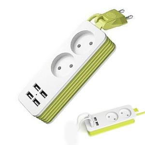 Power Strip Travel Adapter 2 A