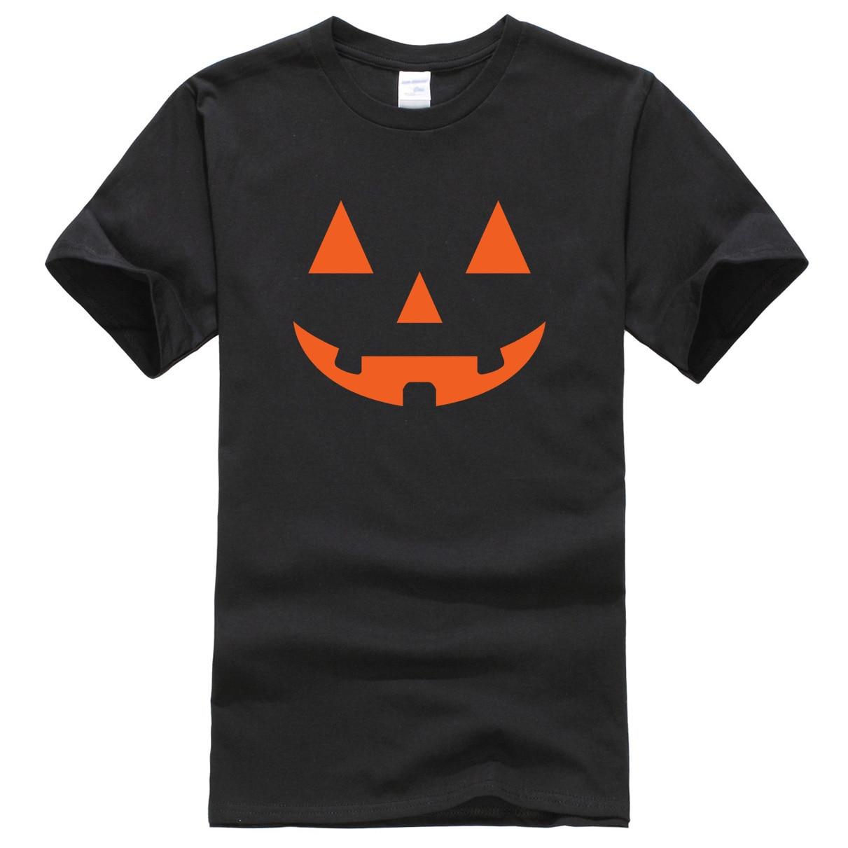 Summer Short Sleeve Shirt 2019 Men's T-Shirts Joe's USA(tm) JACK O' LANTERN PUMPKIN Halloween Costume T-shirt Streetwear Tops