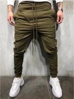 2019 Design Sport trousers men casual straight sports fitness pants men GYM Jogging Pants
