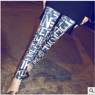 New Fashion Sexy  Women's Art Graffiti Letters Pri...