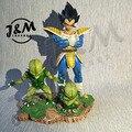 МОДЕЛИ ВЕНТИЛЯТОРОВ JM Dragon Ball Z 22 см Вегета гк смола фигурку игрушки для Коллекции
