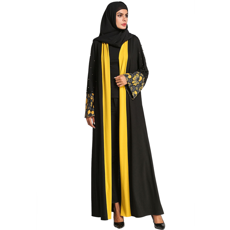 Abaya Robe Dubai Turkey Kimono Cardigan Muslim Hijab Dress Kaftan Abayas For Women Jilbab Caftan Islamic