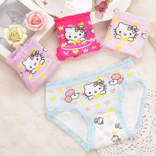 Underwear Shorts Panties Kids Briefs Kitty Wholesale Clothes-Character Baby-Girl Cotton