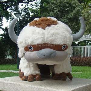 Image 2 - High Quality Plush Avatar 2 Aang Resource 45CM Appa Stuffed Animal Fluffy Toys Cuddly Doll