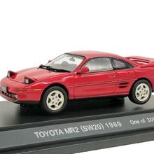 1:43 Ebbro Toyota MR2(SW20) 1989 литая модель автомобиля