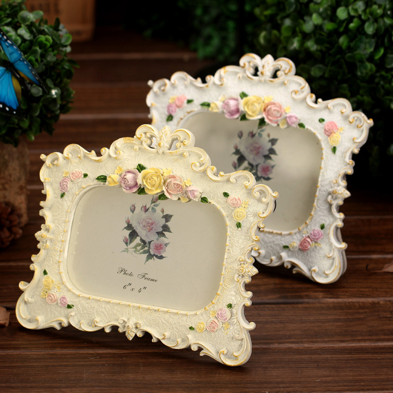 hot modern 6inch picture frames romantic foto quadro frame moldura marcosde fotos photo decoration happy style
