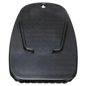 Image 5 - Pata de cabra Universal para motocicleta, placa de soporte lateral, almohadilla de soporte de pie de mimbre de plástico negro, Base de extensión antideslizante, 1 ud.
