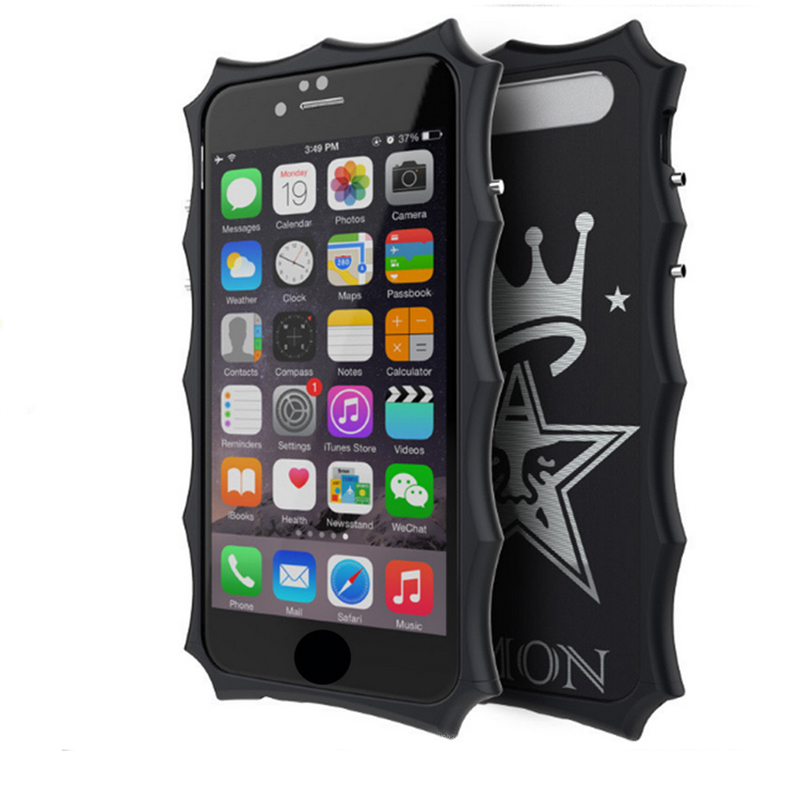 Zimon case For iPhone 6 6s plus Metal Aluminum Shockproof Armor THOR IRONMAN protective Phone Cases Cover Heavy Duty for iphone6