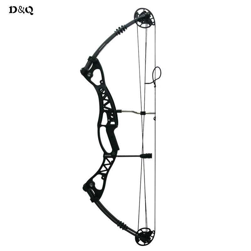 Hunting Archery Compound Bow 40-60lbs Aluminum Alloy Slingshot Bow with Peep Sight for Adult Hunter Outdoor Hunting Shooting 20 70 lbs compound bow 17 29 inch by aluminum alloy in 3 color for outdoor archery hunting shooting