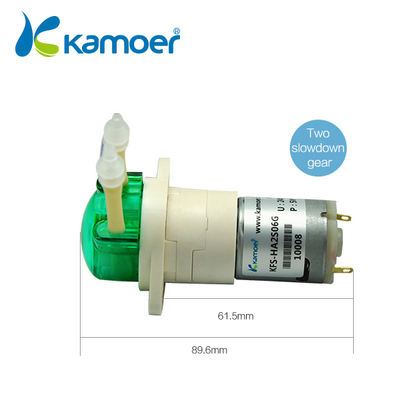 Kamoer KFS Peristaltic Pump 12V/24V BLDC Motor Water Pump with Reduction  Gear, Low Flow Rate Water Pump, 4 Color-in Pumps from Home Improvement on