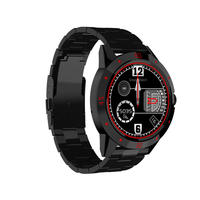 Smart watch android MTK2502C luxury watch men with heart rate monitor call message reminder 1.3inch invicta for New year's gift
