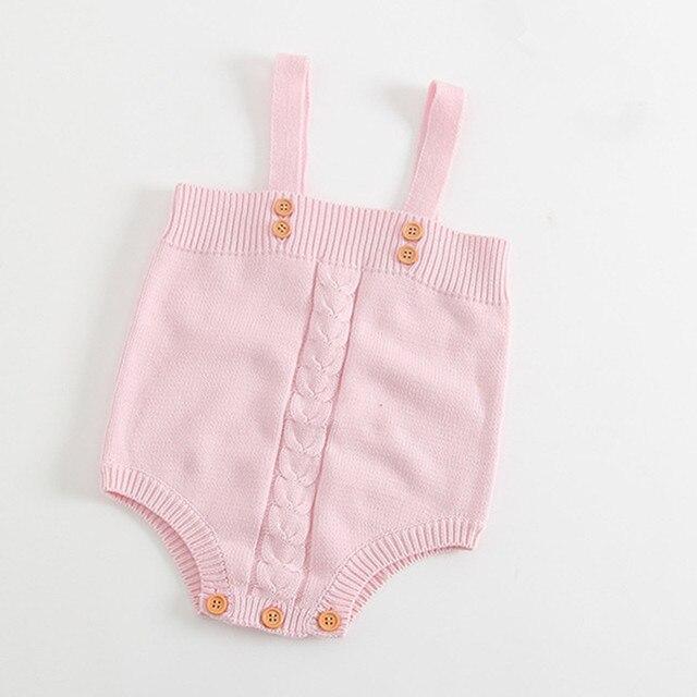 Baby Stricken Strampler Neugeborenen Häkeln Overall Mädchen Nette