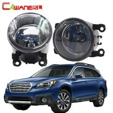 Cawanerl для Subaru Outback 2010-2012 100 Вт H11 Аксессуары для автомобильного освещения галогенные туман свет дневных Бег лампы ДРЛ 12 В 2 шт.
