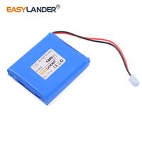 WS 6933 high capacity 7.4V 1200mAh Rechargeable battery For satlink WS 6923 WS6923 WS6933 satellite finder DVD GPS DVR