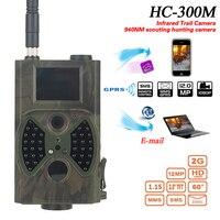Hc300m skatolly HC-300M الصيد تريل كاميرا فيديو ليلة الرؤية كاملة hd 12mp 1080 وعاء gprs mms الكشافة الأشعة لعبة هنتر كاميرا