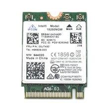 Para Intel Wireless-AC 18260AC 00JT492 M.2 802.11ac 867 Mbps WiFi + Bluetooth 4.1 cartão para Lenovo X260 T460 t460S T460P YOGA 260