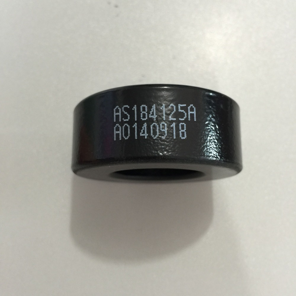 Black Iron Core Power Inductor Ferrite Rings Toroid AS184-125A toroidal transformer 32mm inner diameter ferrite core as200 125a black