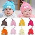 Nova mult-cor dos desenhos animados do bebê toddlers conforto do algodão cap sono headwear chapéu bonito yyt111-yyt120