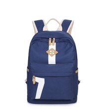 2019 New Shoulder Bag Korean High School Canvas Leisure Travel Backpack Student