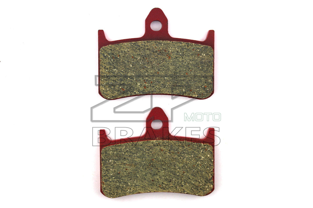 Motorcycle parts Brake Pads Fit HONDA CBR 900 RRN/RRP Fireblade 1992-1993 Front OEM Red Ceramic Composite Free shipping motorcycle brake parts brake pads for honda nv400 nv 400 cj ck steed 1992 1993 front motor brake disks fa124