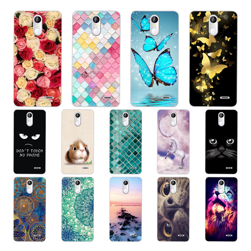 Geruide Leagoo M5 Plus Case Cover, 3D Cartoon Printed Soft Silicon TPU Phone Back Cover For 5.5 Capa Coque