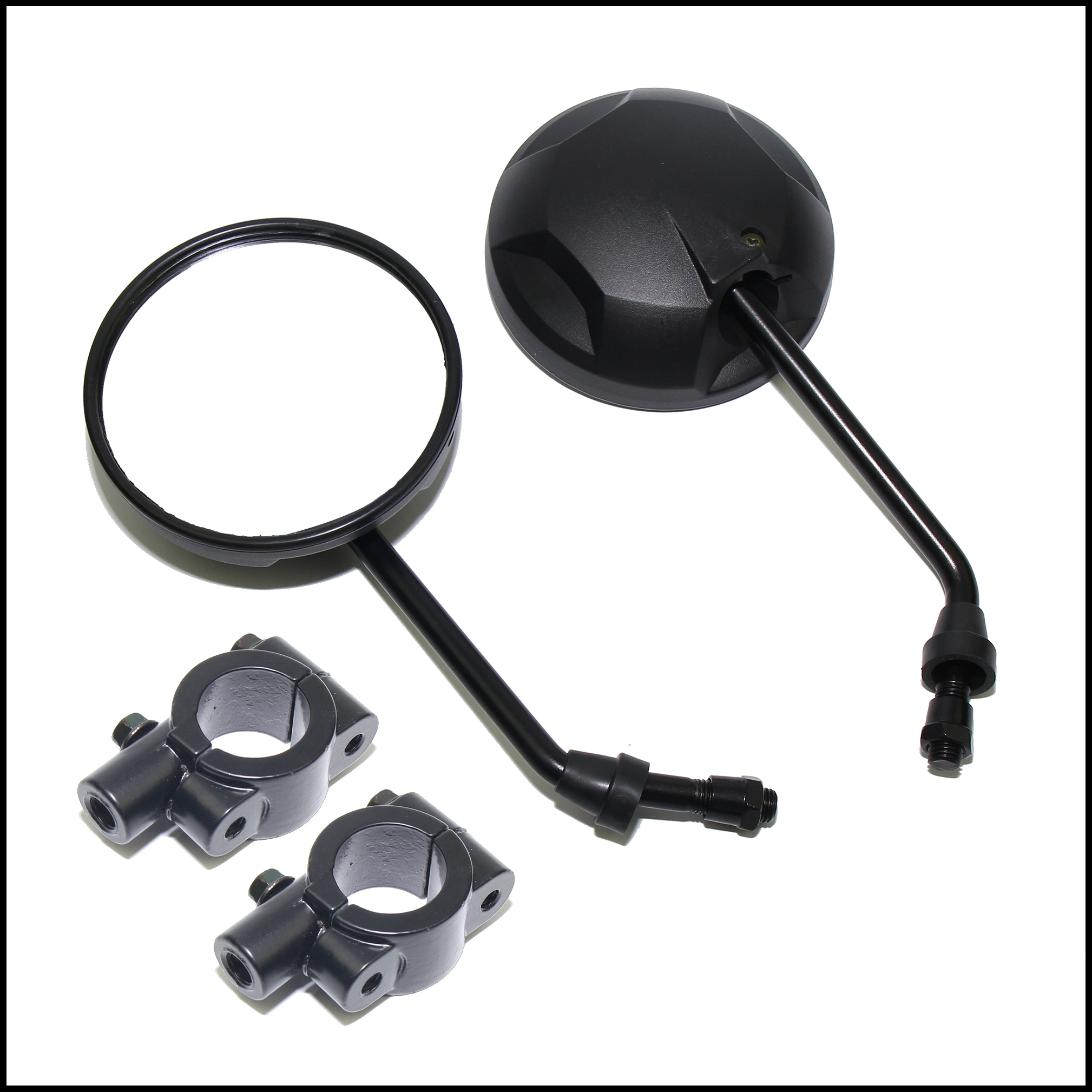 Large New Rearview Side Mirror Universal For 10mm bolts 4 ATV Quad Pit Dirt Bike