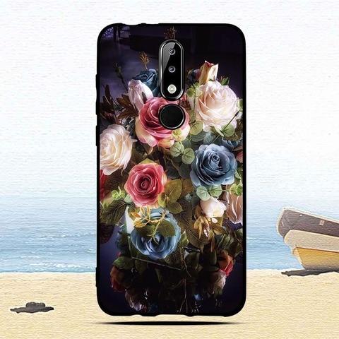 Luxury Silicone Case for Nokia 5.1 Plus/X5 Cartoon Protective cases for nokia5.1 plus mobile phone covers for Nokia 5.1Plus capa Lahore