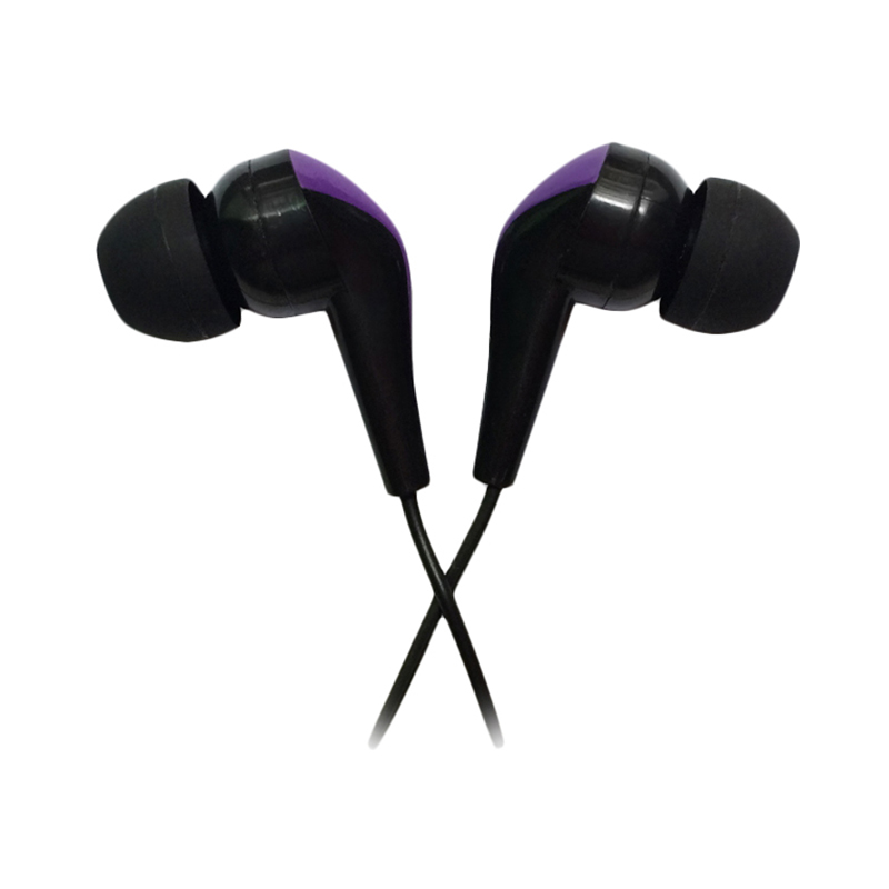Earphones CBR Human Friends Samba Black-Purple поло banana republic banana republic ba067emajvh0