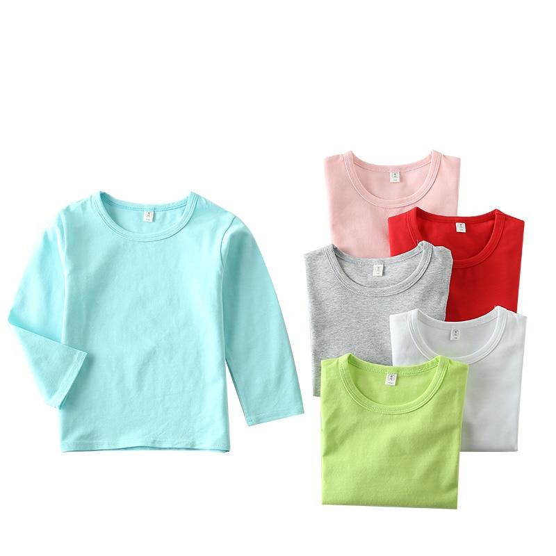2017 Children 39 S Clothing Long Sleeve T Shirt Cotton O Neck