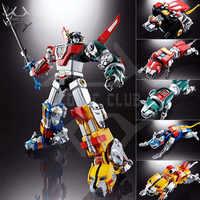 Komiks klub w magazynie FJ ko Super alloy dusza bestia król GoLion metal robot transformacyjny figurka zabawka