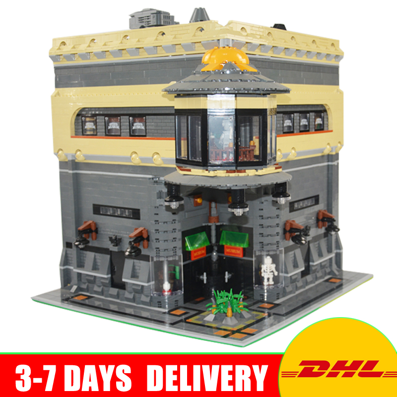 2017 LEPIN 15015 5003Pcs City Street The Dinosaur Museum Model Building Kits Blocks Bricks Compatible Children Toys Gift lepin city town city square building blocks sets bricks kids model kids toys for children marvel compatible legoe